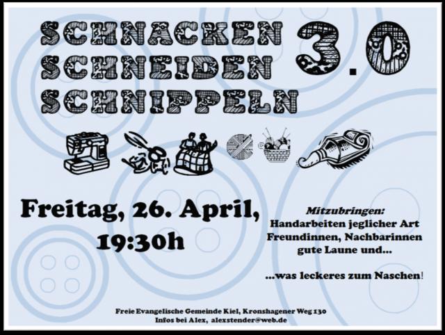 Schnacken Schneiden Schnippeln 3.0