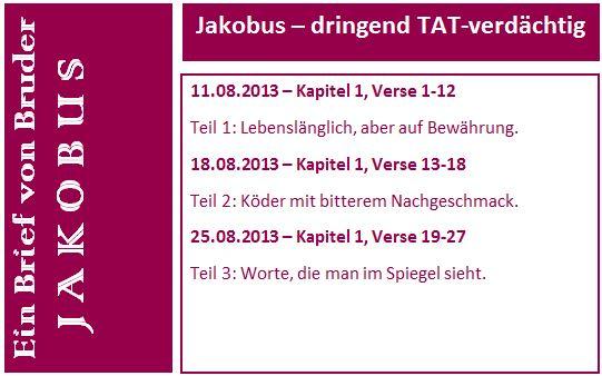 Jakobus Flyer Teil 1-3 short