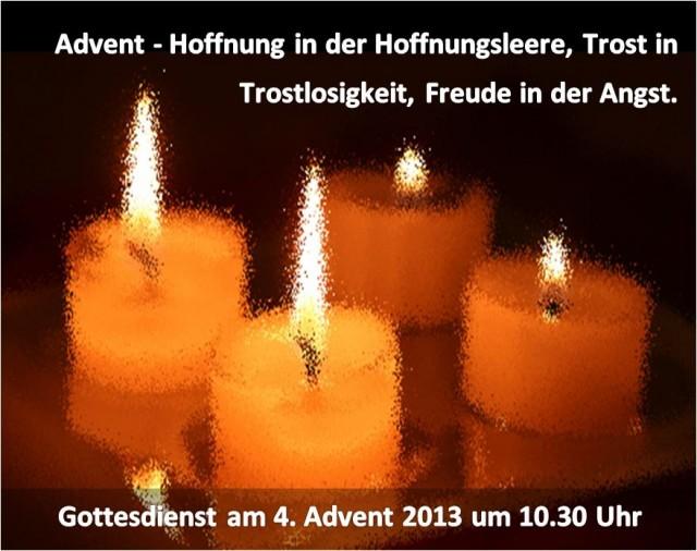 4 Advent 2013