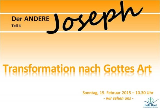 Joseph 4