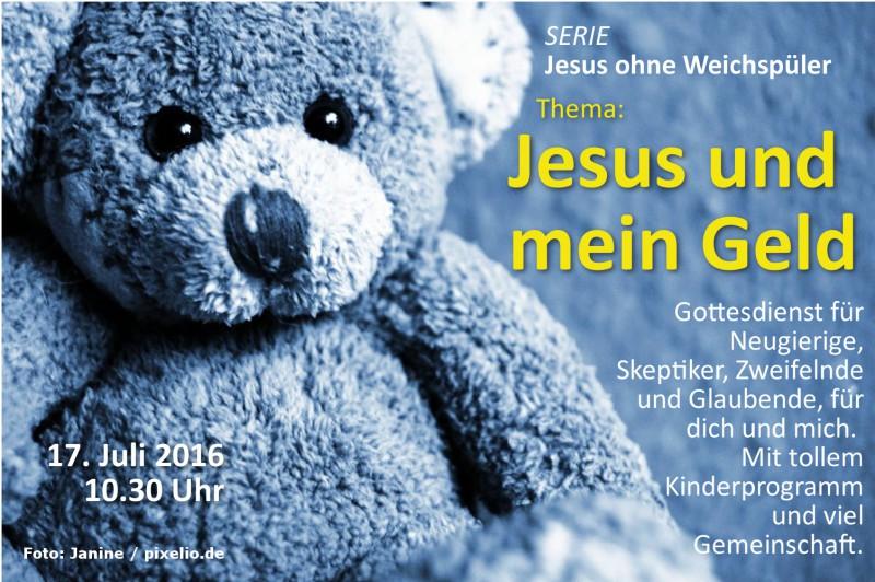Jesus und mein Geld