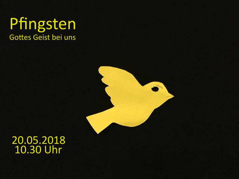 Pfingstgottesdienst 20.05.2018
