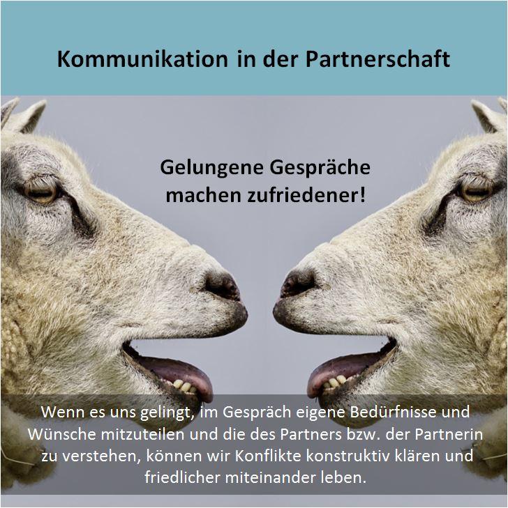 Kommunikation in der Partnerschaft. AUSGEBUCHT!